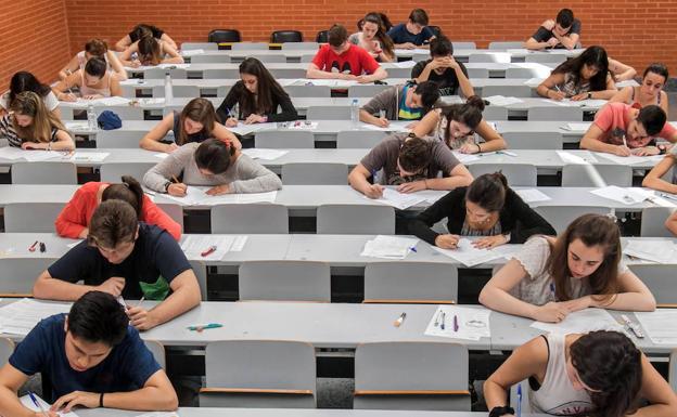 Examen Selectividad Comunidad Valenciana