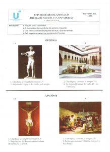 Examen Selectividad Historia del Arte