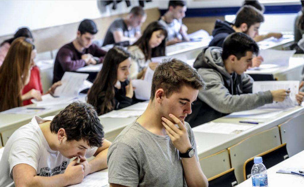 Examen Selectividad País Vasco