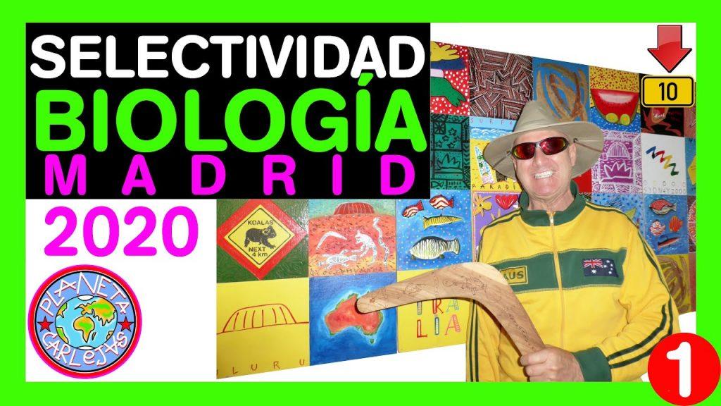 Exámenes Selectividad Madrid Biología Resueltos