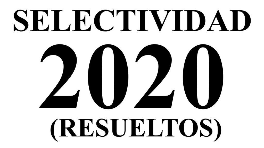 Selectividad Galicia 2020