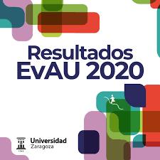 Notas Selectividad Zaragoza 2020